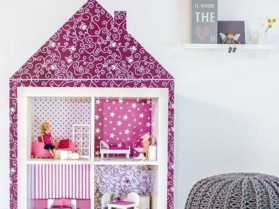 Ikea Hack: van open kast naar een poppenhuis