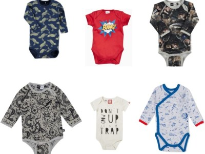 baby essentials: rompertjes! (boys edition)