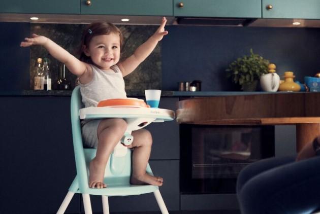 Baby Zitten Stoel.Kinderstoel In Mooie Pasteltinten