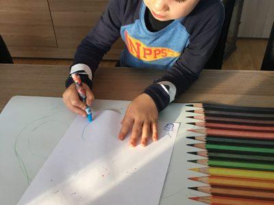 Tekenen voor SOS Kinderdorpen: wij doen mee!
