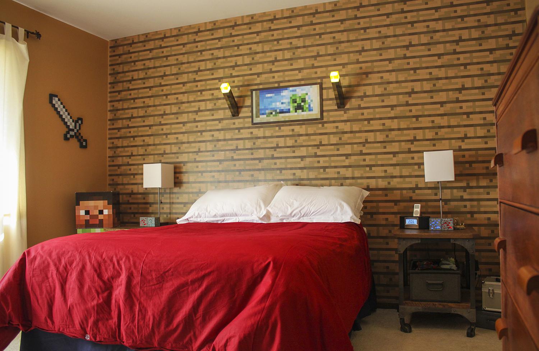 cool minecraft bedrooms. minecraft bedroom decorations in real