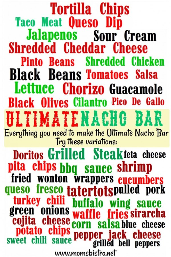 The ULTIMATE Nacho Bar!