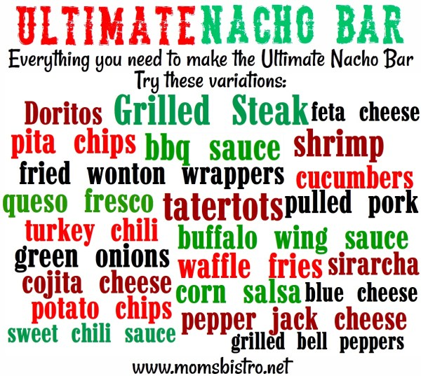 ultimate nacho bar variations
