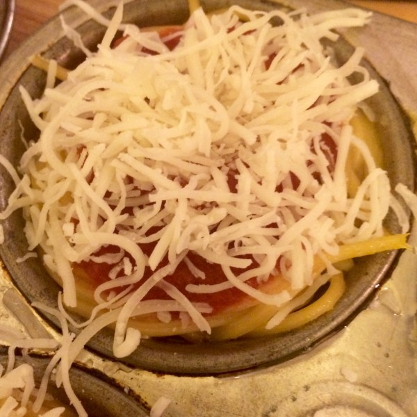 mini spaghetti pie