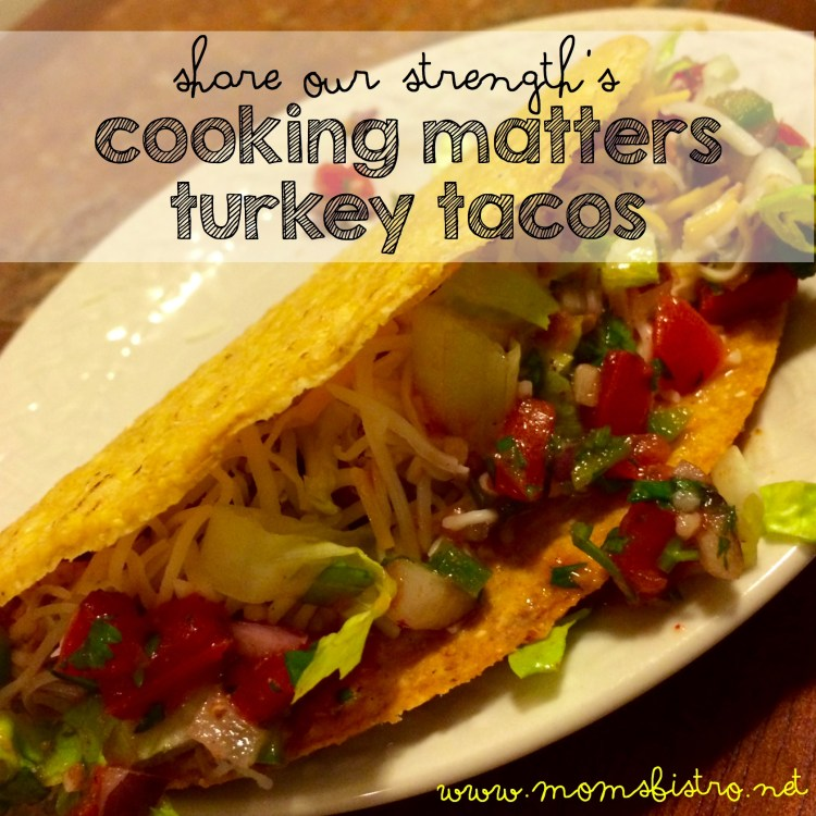 cooking matters | share our strength | no kid hungry |} turkey tacos recipe