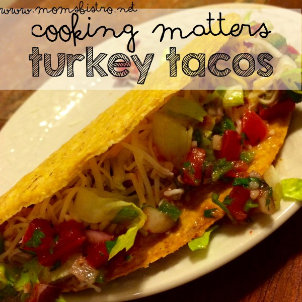 cooking matters turkey tacos