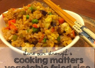share our strengths cooking matters vegetable fried rice