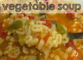 alphabet vegetable soup
