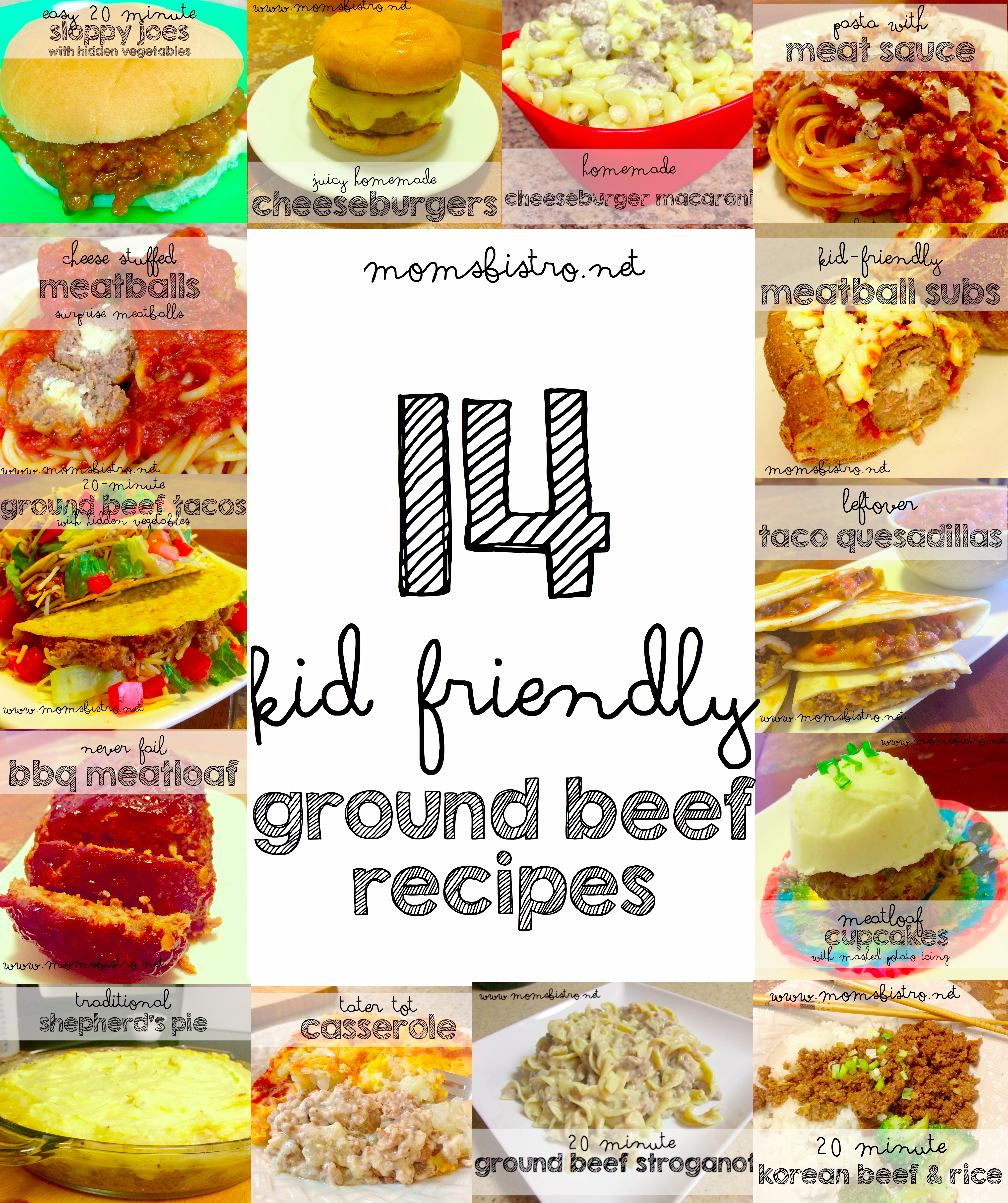 14 Easy Kid Friendly Ground Beef Recipes To Try For Dinner