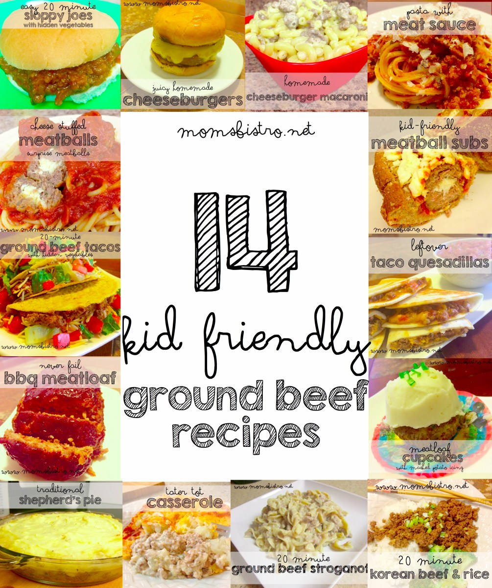 Meal Ideas For Ground Beef: 14 Easy Kid Friendly Ground Beef Recipes To Try For Dinner