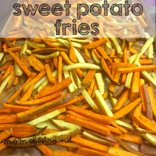 sweet potato fries recipe moms bistro