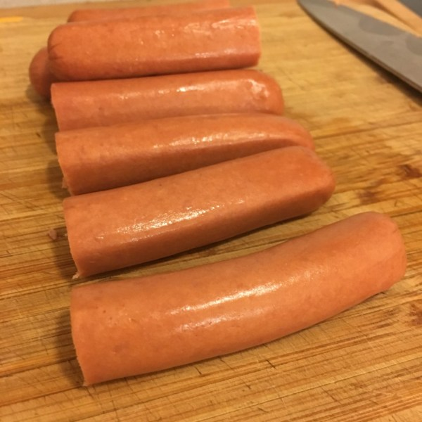 halloween hot dogs spiders homemade crockpot baked beans bbq recipe moms bistro beaners and wieners