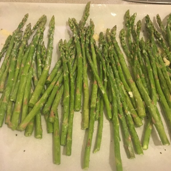 quick easy simple side dish 15 minute roasted asparagus recipe parmesan garlic