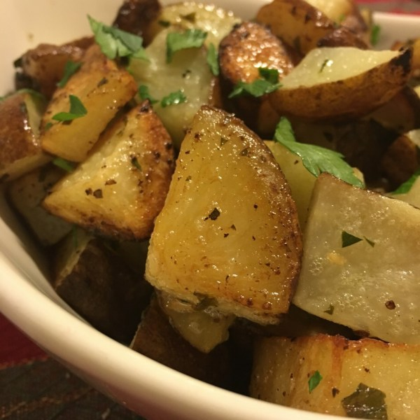 herb roasted potatoes recipe italian parmesan moms bistro easy kid friendly christmas side dish potato