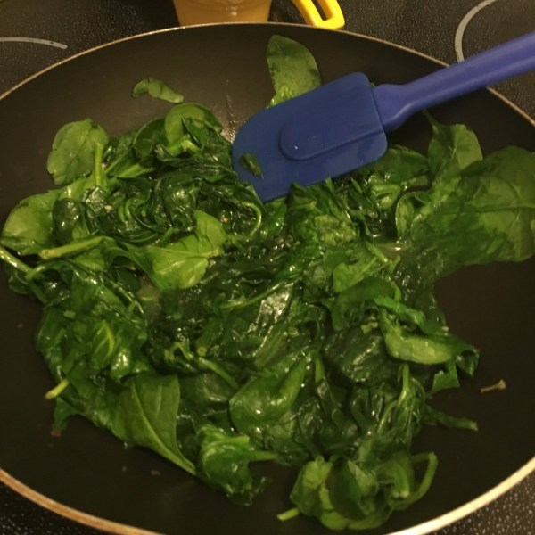 5 minute wilted spinach recipe easy side dish