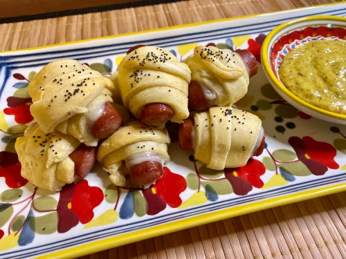 cheesy pigs in a blanket recipe