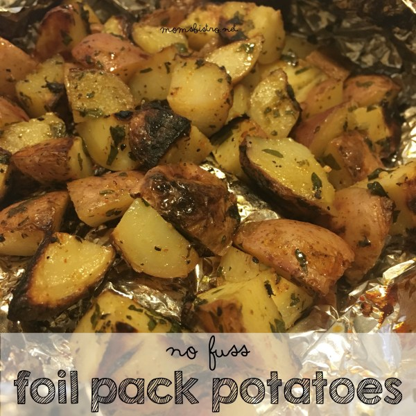 foil pack potatoes