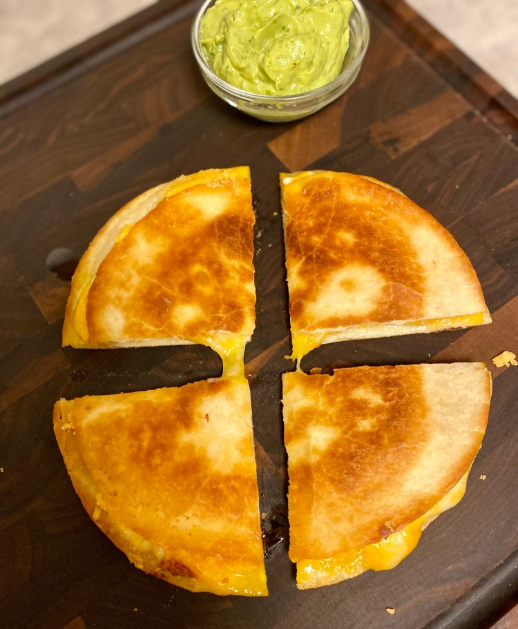 Cheese Quesadilla Home Lunch School Lunch