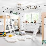 ceiling fan at kids bedrom