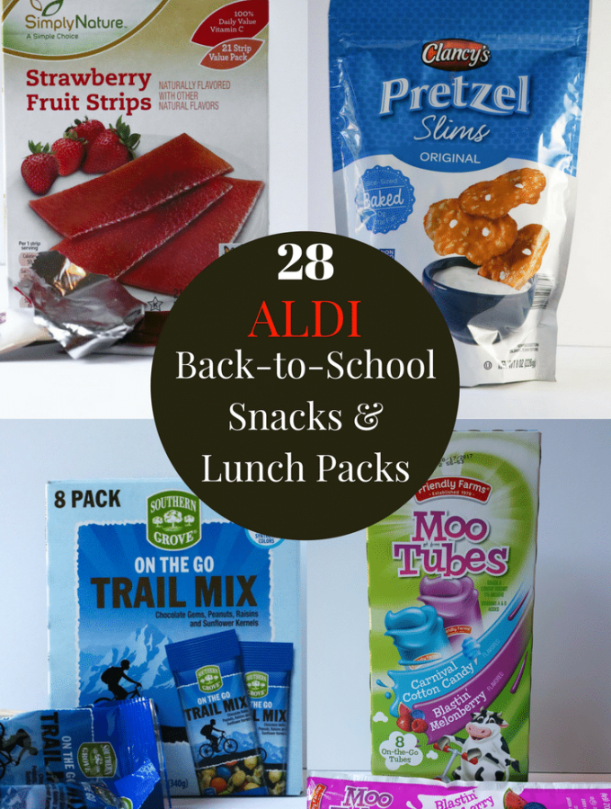 ALDI Back-to-School Snacks & Lunch Packs