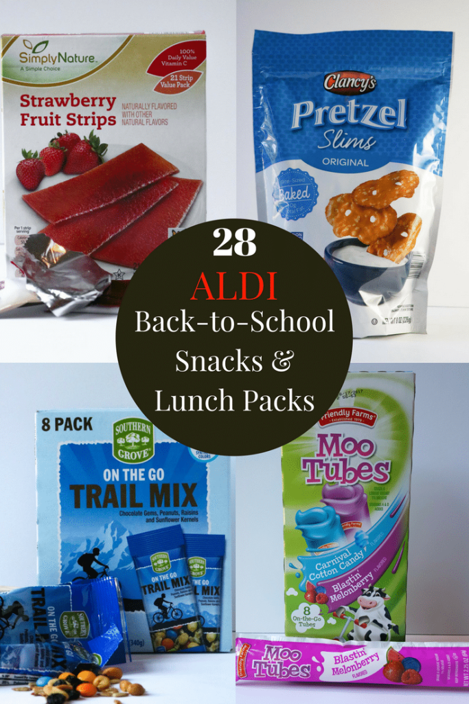 28 Aldi back to school snacks and lunch packs