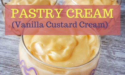 Pastry Cream (Vanilla Custard Cream)