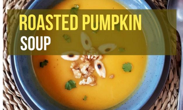 Keto Roasted Pumpkin Soup