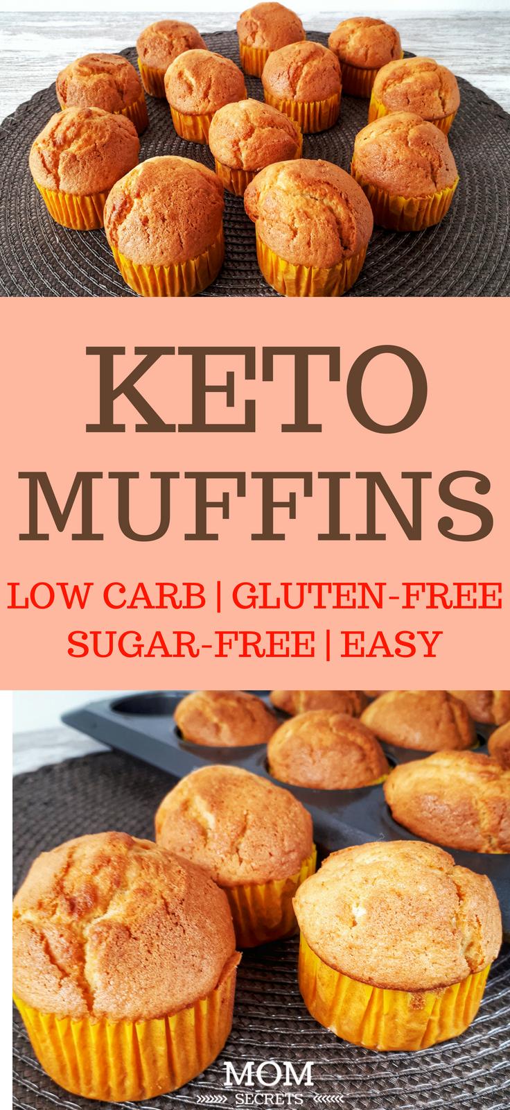 Keto Orange Flavor Muffins