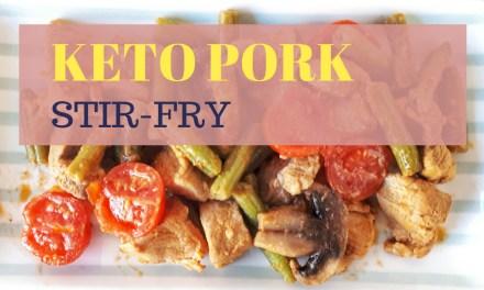 Keto Pork Stir Fry