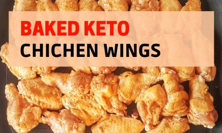 Baked Keto Chicken Wings