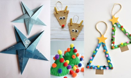 12 Christmas Crafts DIY for Kids To Make
