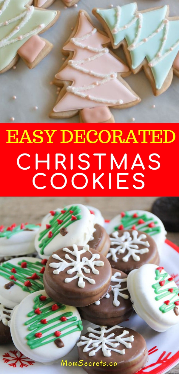 Easy Decorated Christmas Cookies 2 Mom Secrets Healthy Recipes