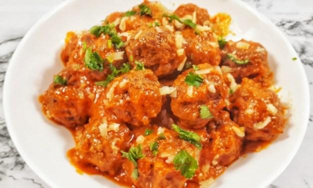 Best Homemade Italian Meatballs with Marinara Sauce