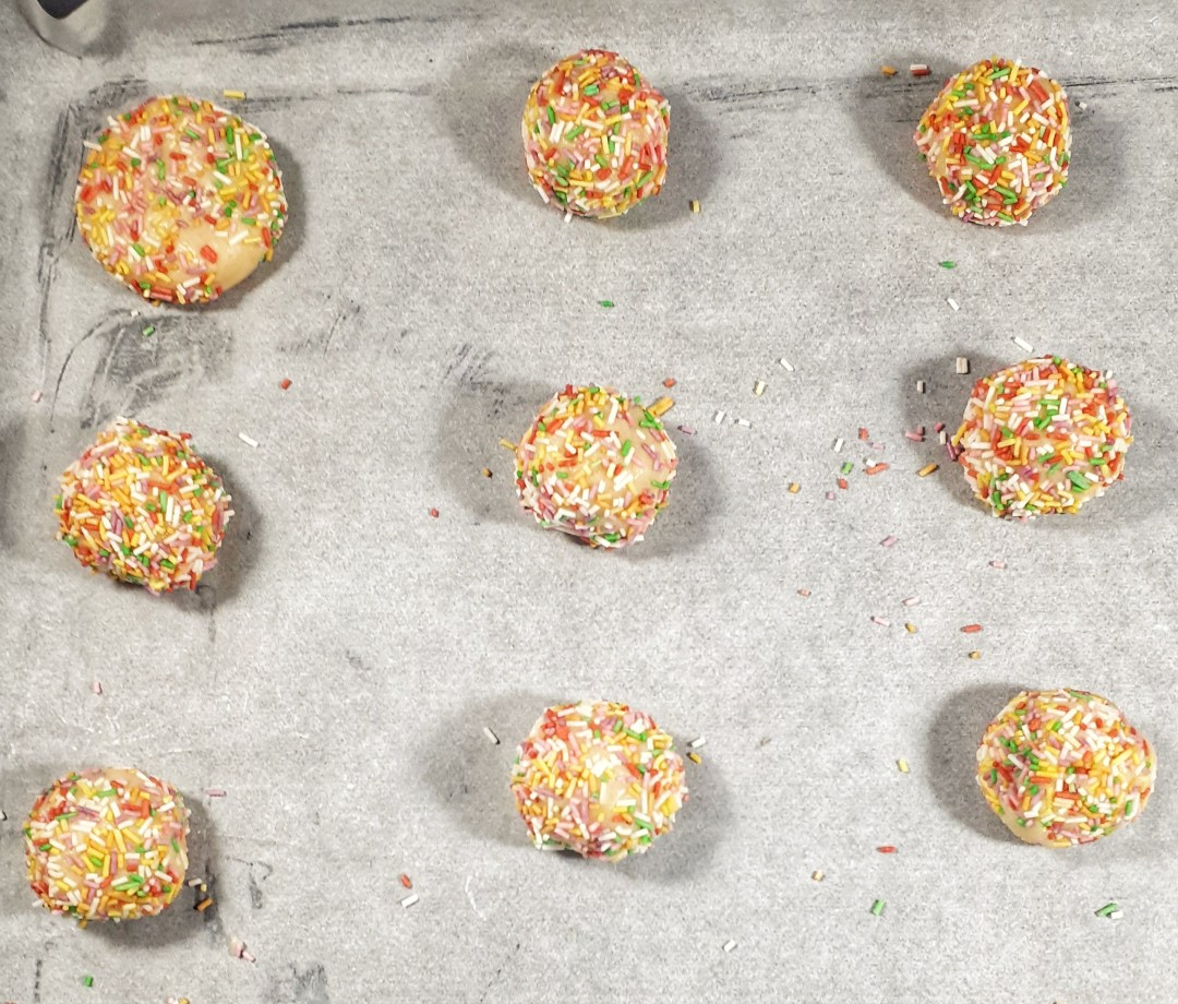 Sprinkle cookies are an easy and fun recipe that is perfect for holidays and any kids birthda party. They are perfectly chewy and soft.