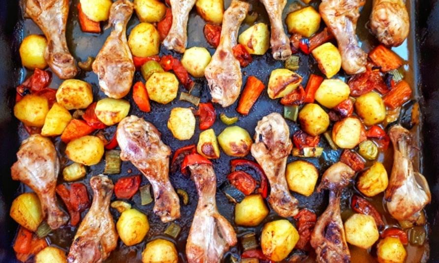 Sheet Pan Chicken & Veggies