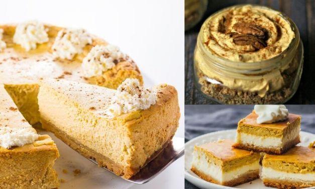 Keto Pumpkin Desserts