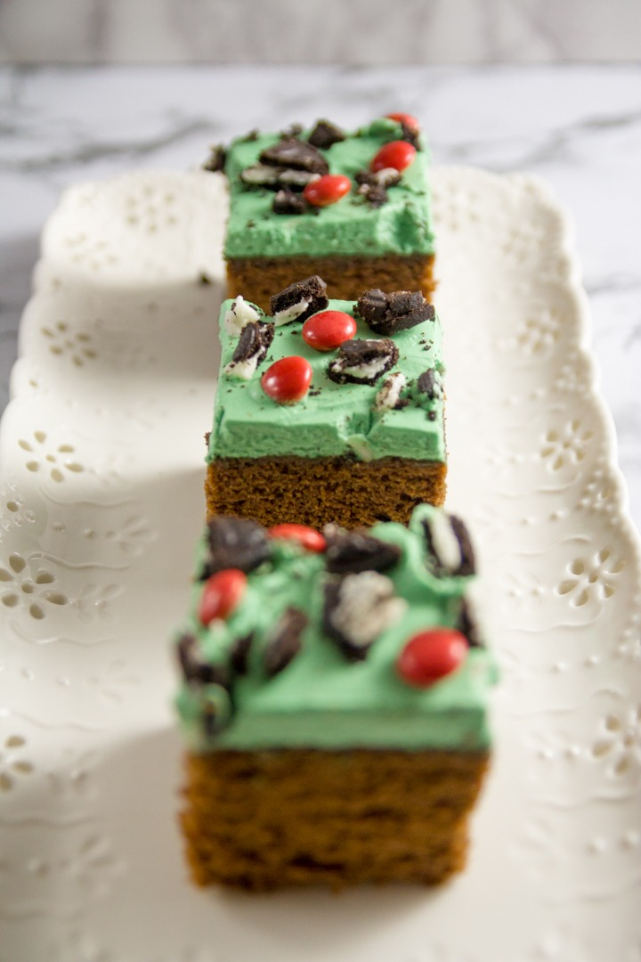 Turn an ordinary pan of brownies into The Grinch brownies for a fun, festive treat for the kids on Christmas movie night.