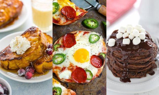 New Year's Days Breakfast & Brunch Ideas