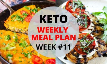Weekly Keto Meal Plan –  Week #11