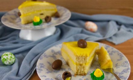 Easter Homemade Yellow Cake Recipe