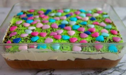 Easy Easter Dirt Cake Recipe with Homemade Chocolate Pudding
