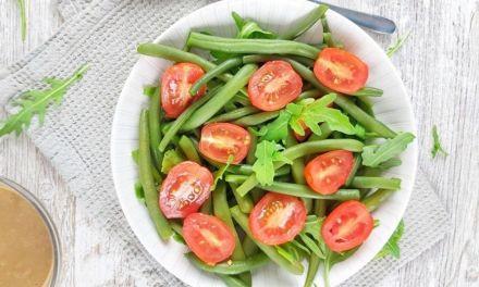 Green Bean and Tomato Salad – Low Carb, Gluten-Free & Vegan