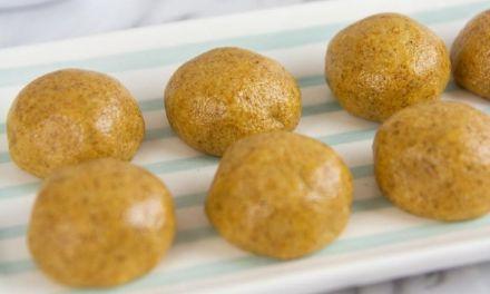 No-Bake Keto Sugar-Free Cinnamon Protein Balls