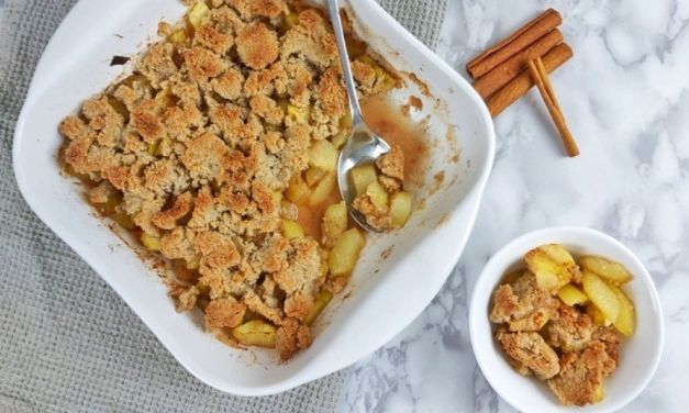 The Best Keto Apple Crisp Recipe