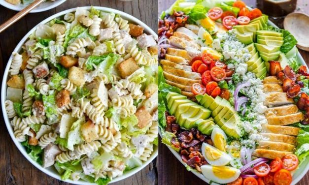 12 Healthy Salads Recipes That Helps You to Lose Weight
