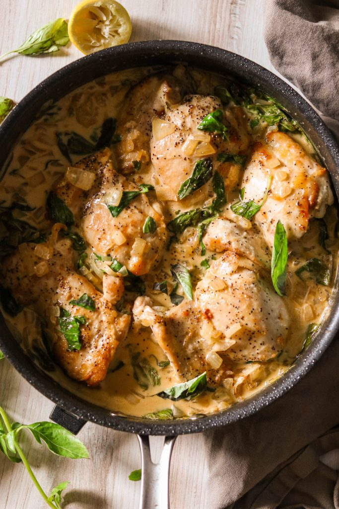 These 12 One-Pot Dinner recipes are perfect when you're just too tired to stand at the stove and need something super simple. They will make totally satisfying weeknight dinners. #ketodinners #onepotmeals #ketorecipes #easydinnerecipes #healthydinner