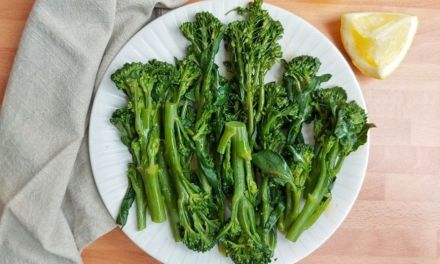 Sauteed Broccolini with Garlic Lemon Butter