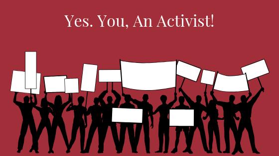 You You an Activist Image