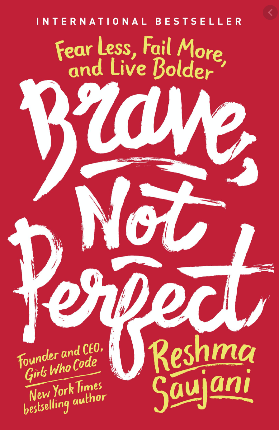 Image of book cover for Brave Not Perfect by Reshma Saujani
