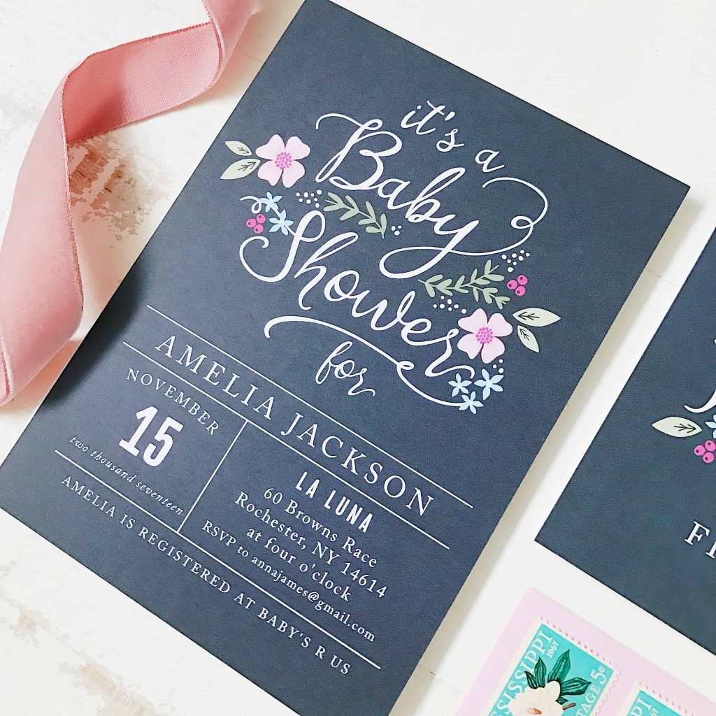Best Place Baby Shower Invitations
